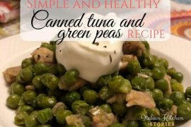 Simple And Healthy Canned Tuna And Green Peas Recipe