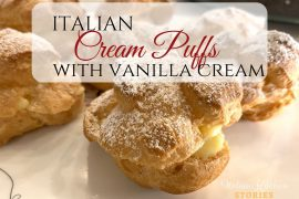 Italian -Cream-Puffs-with-Vanilla-Cream