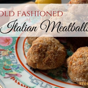 Old Fashioned Italian Meatballs ‎| Oven Baked Meatballs
