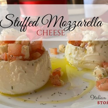 Stuffed Mozzarella Cheese