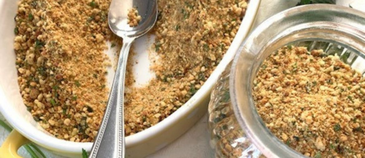 How to make Italian bread crumbs mix (at home)